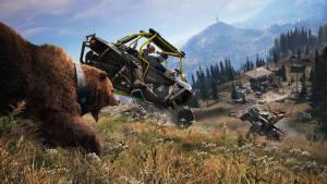 far cry 5 bear car attack