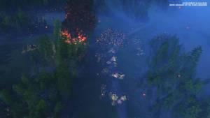 total war three kingdoms night attack