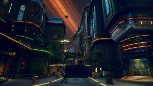 the outer worlds space city