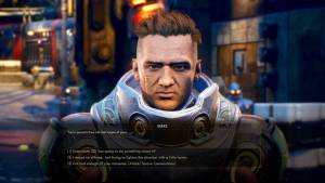 the outer worlds character dialogue