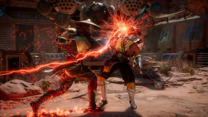 Mortal Kombat 11 gameplay fighting