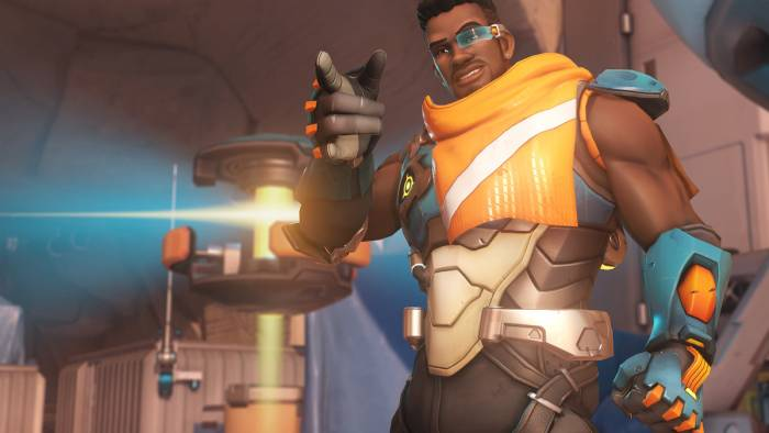 Overwatch Baptiste pose