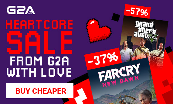 second week of g2a heartcore valentine's day sale