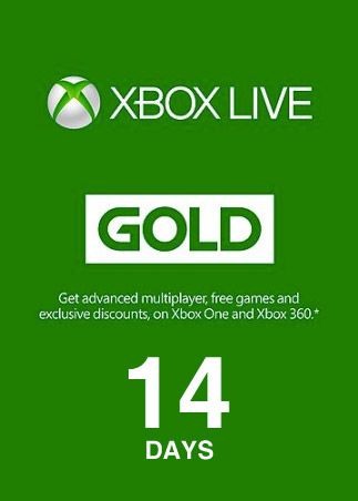 Xbox Live Gold Trial Code 14 Days