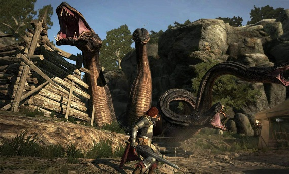 Dragon's Dogma games like skyrim