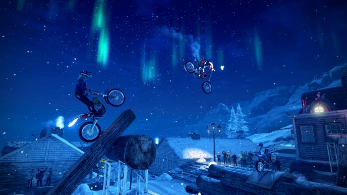 Trials Rising game nintendo switch