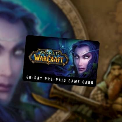 World of Warcraft Time Card 60 Days