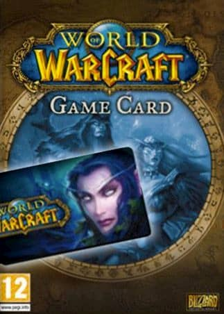 World of Warcraft Time Card 180 Days
