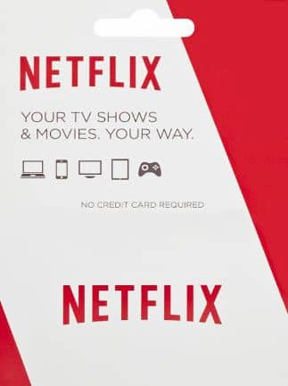 Netflix Gift Card 25 USD UNITED STATES