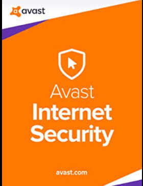 AVAST Internet Security box cover