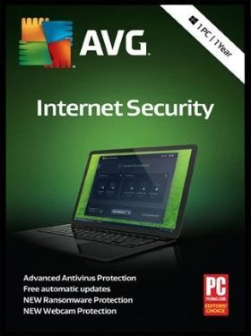 AVG Internet Security box cover