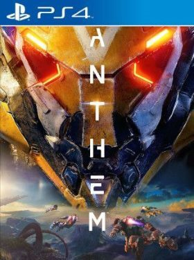 Anthem PS4 box cover