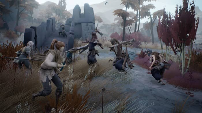 Ashen multiple enemies