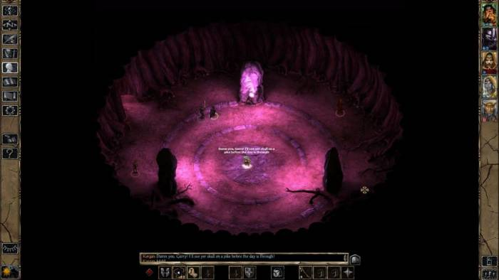 Baldur's Gate 2 game