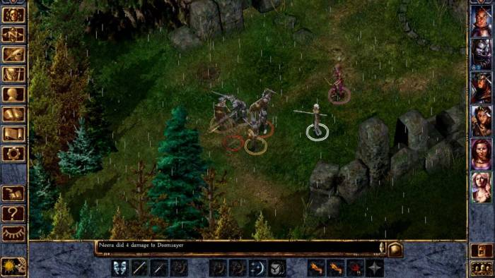Baldur's Gate game screenshot