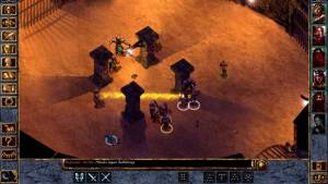 battle in baldurs gate