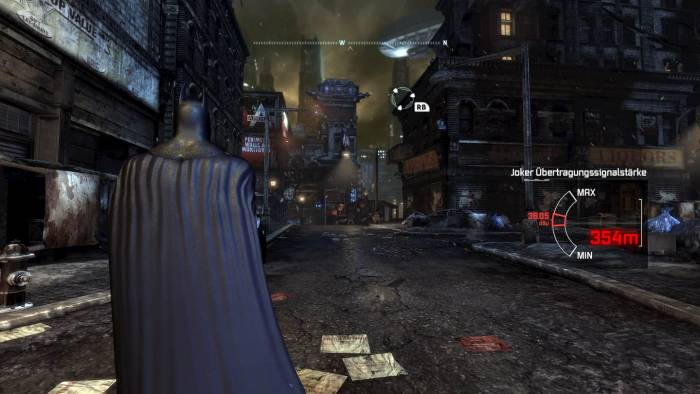 Batman: Arkham City graphics