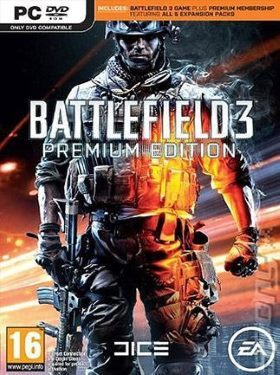 Battlefield 3 Premium Edition Origin Key GLOBAL box cover