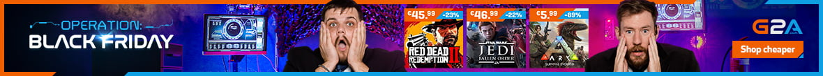 weekly sale on black friday at g2a