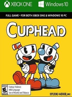 Cuphead box cover