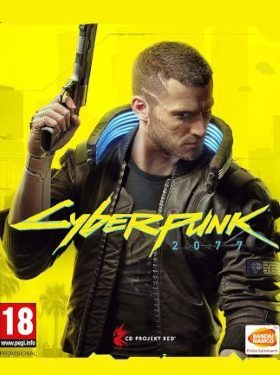Cyberpunk 2077 box cover