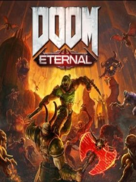 DOOM Eternal box cover