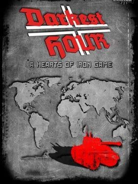 Darkest Hour A Hearts of Iron Game box cover