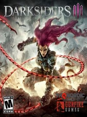 Darksiders 3 box cover