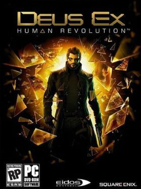 Deus Ex Human Revolution box cover