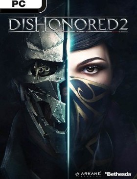 Dishonored 2 box cover