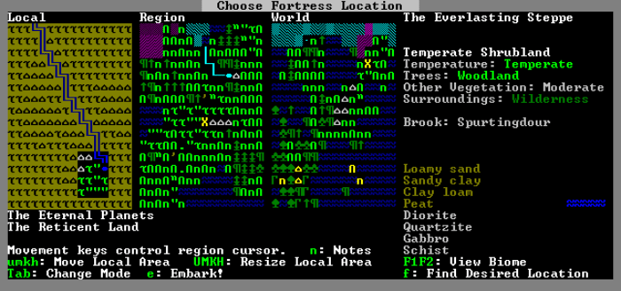 6. Dwarf Fortress game