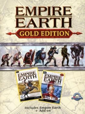 Empire Earth Gold Edition box cover