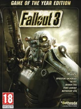 Fallout 3 Game of the Year Edition box cover