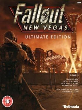 Fallout New Vegas box cover