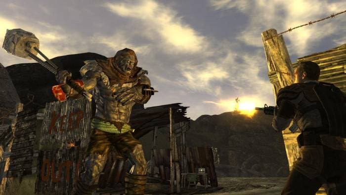 Mutant in Fallout New Vegas game