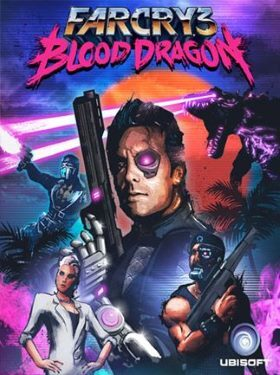 Far Cry 3 Blood Dragon box cover