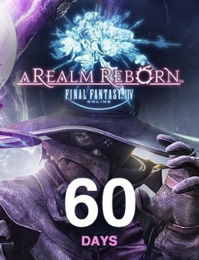 Final Fantasy XIV A Realm Reborn Time Card 60 Days box cover