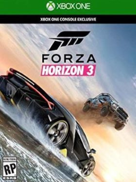 Forza Horizon 3 box cover