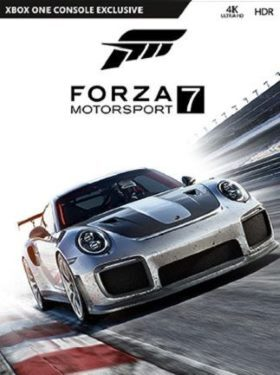 Forza Motorsport 7 box cover