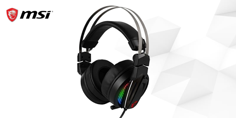 Gaming Headset with Microphone <br />MSI S37-2100970-Y86 USB