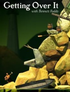 Getting Over It with Bennett Foddy box cover