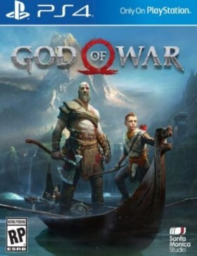 God of War PS4 box cover