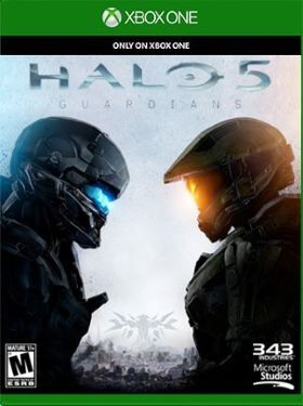Halo 5 Guardians box cover