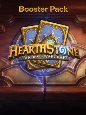 Hearthstone Booster Pack Code box cover