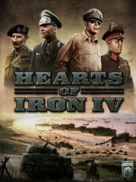 Hearts of Iron IV box cover