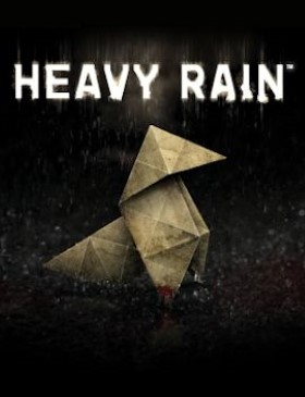 Heavy Rain box cover