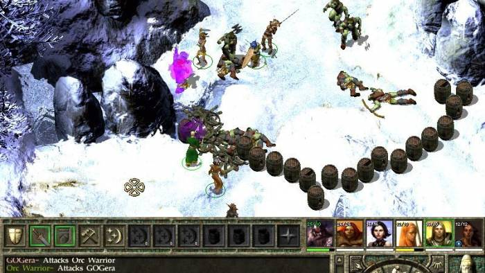 Icewind Dale II game screenshot