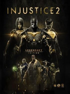Injustice 2 PS4 cover box