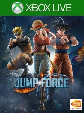 JUMP FORCE Xbox Live box cover