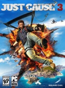 Just Cause 3 cover box